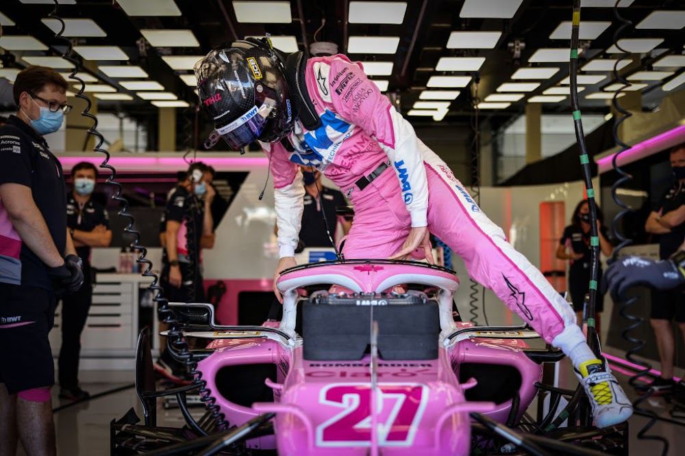 Racing Point say 'Pink Mercedes' tag has gone too far