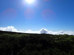 右から木曽御嶽山・乗鞍岳・北アルプス