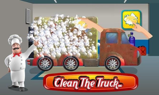 Pizza Truck Wash Salon Game - screenshot