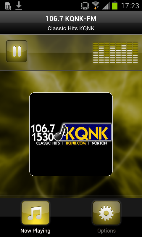 106.7 KQNK-FM- screenshot
