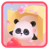 Cute Panda Live wallpaper