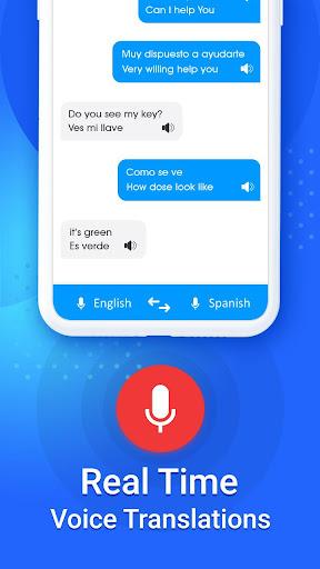 Language Translator, Free Translation Voice & Text screenshot 2
