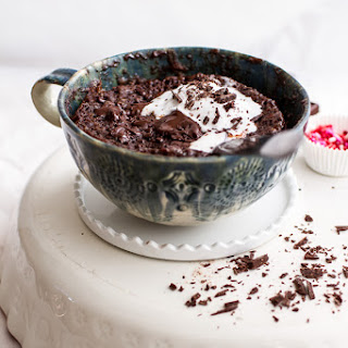5-Minute Gooey Molten Chocolate Mug Cake.