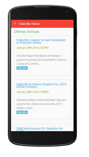 Oakville News 1.0 screenshots 1
