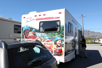 Photo: The RV is almost ready. It will be home away from home for 9 days