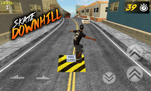 3D Skate DownHill 3 screenshots 8