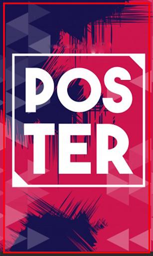Poster Maker pro 1.0 screenshots 1