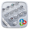 55° Grey GO Launcher Theme APK