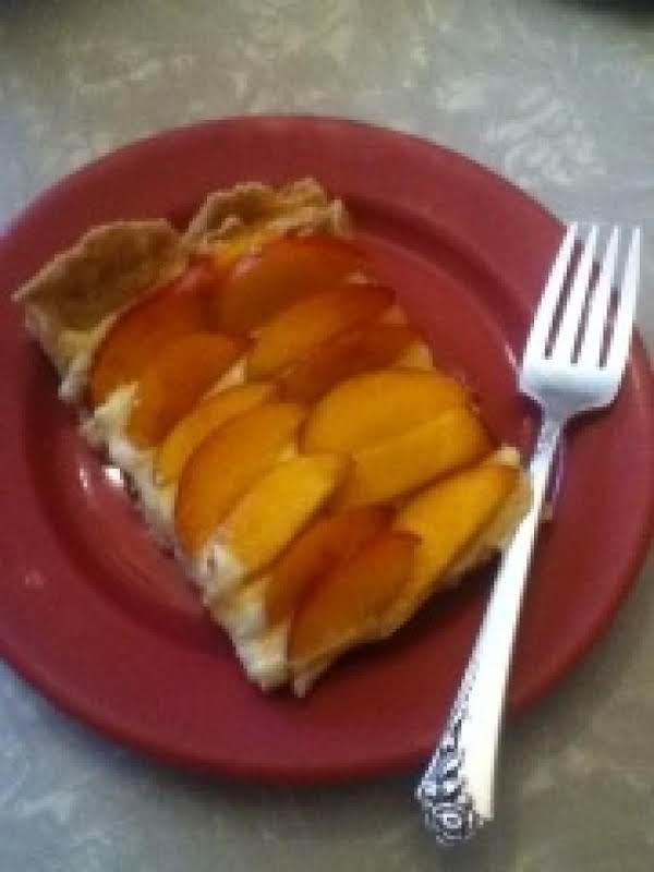 Taste Of Summer Nectarine Custard Tart Recipe