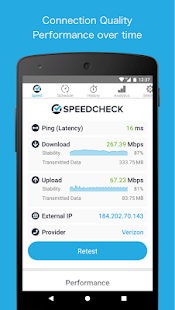App Simple Speedcheck APK for Windows Phone