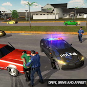 NYPD Police Car Chase Simulator : Gangster Chase