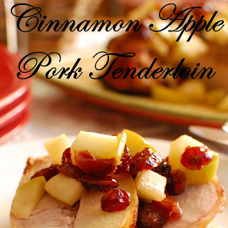 Cinnamon Apple Pork Tenderloin