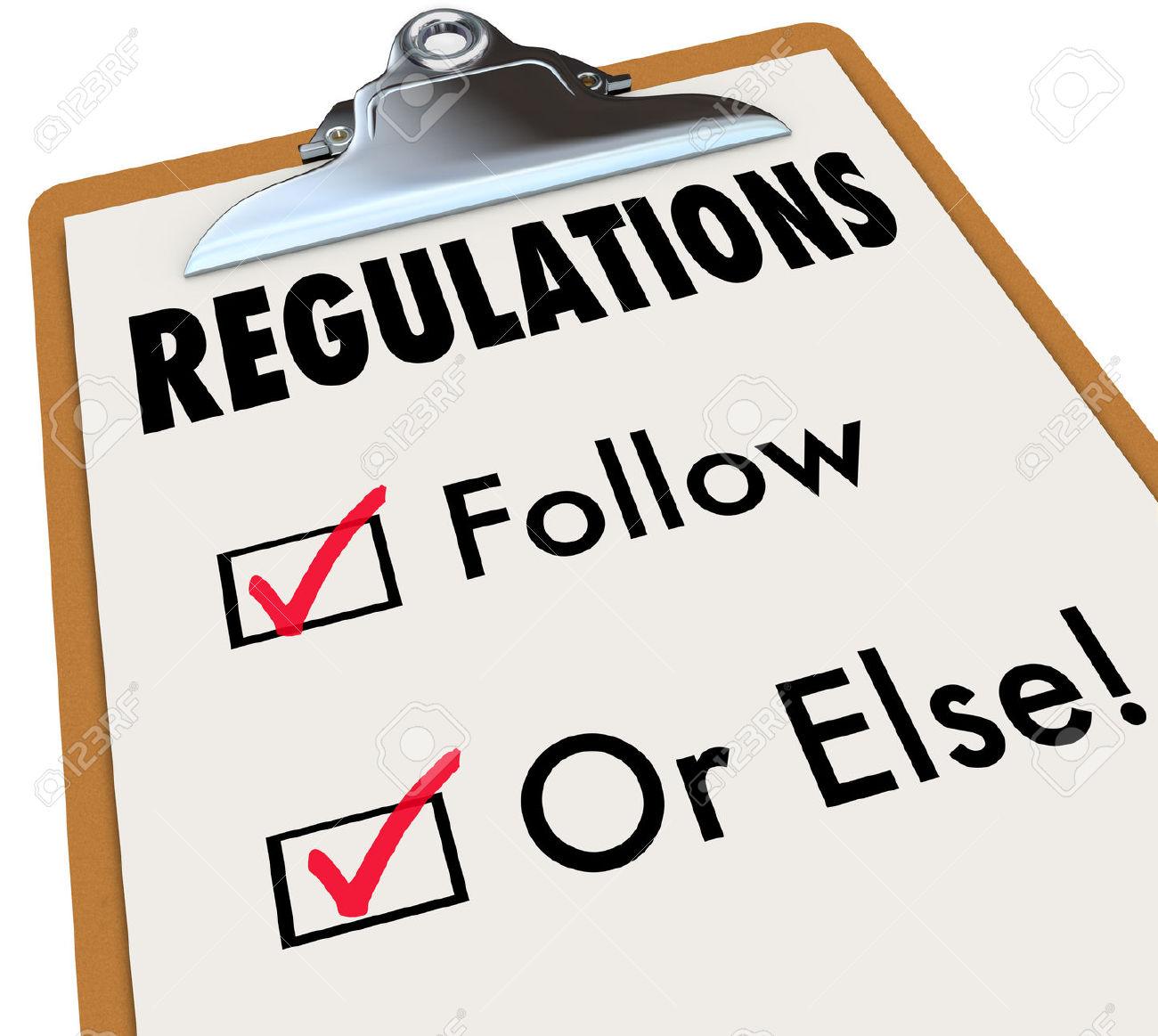 Billedresultat for regulations