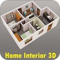 Home Interior Design 3D icon