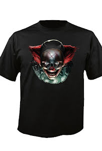 Digital Dudz t-shirt, skräck clown