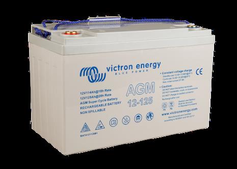 Victron 12V/125Ah AGM Super Cycle Batt. (M8)