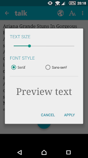 App Talk FREE - Text to Voice - Read aloud APK for Windows Phone