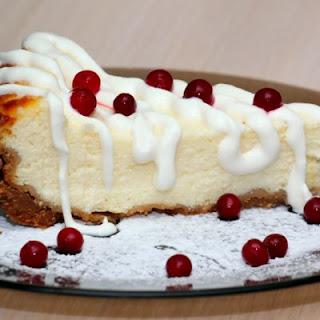 Cranberry Crockpot Cheesecake