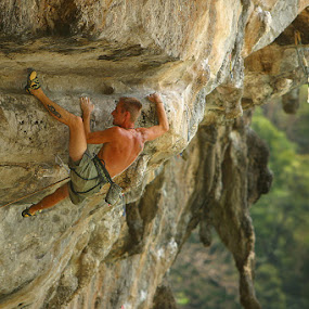 by Nathan Welton - Sports & Fitness Climbing