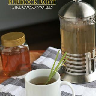 Detox Tea with Burdock Root