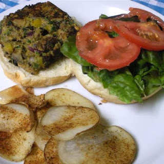 Sweet Potato and Black Bean Burgers