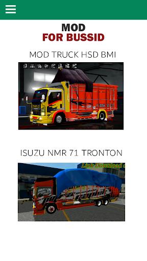 Mod Truck Bussid  captures d'écran 2
