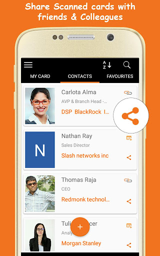 Business Card Scanner - Business Card Organizer 5.0.1 screenshots 5