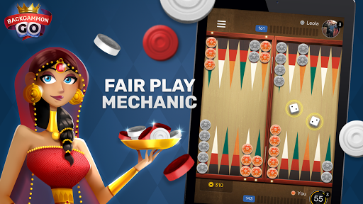 Free Backgammon Go: Best online dice & board games 2.9.1 gameplay | by HackJr.Pw 10
