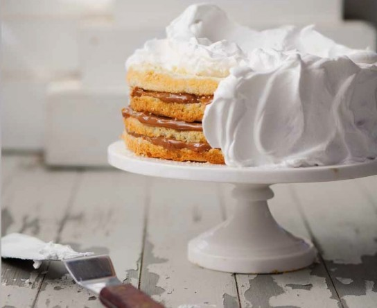 Photo: Dulce de Leche Cake - For the recipe, go to: http://bit.ly/sflCbo