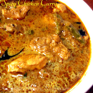 Spicy Chicken Curry.