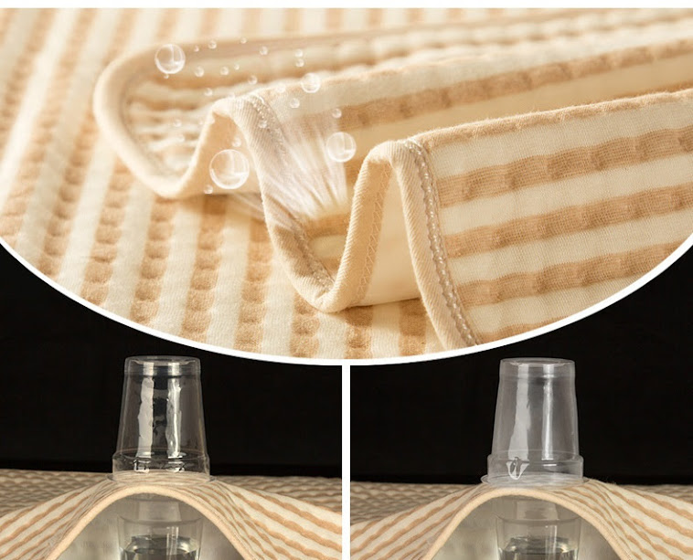 Trendyvalley Organic Waterproof Changing Mat - Size L (70cm x 80cm)