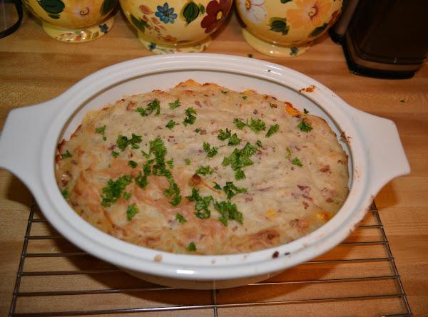 Ground Pork Shepherds Pie Dated Recipe 1944