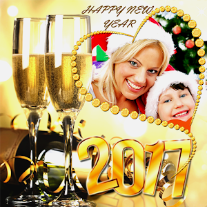 2017 New Year Frames download