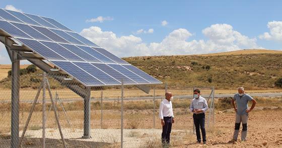 Diputación apuesta por el sol para garantizar el agua