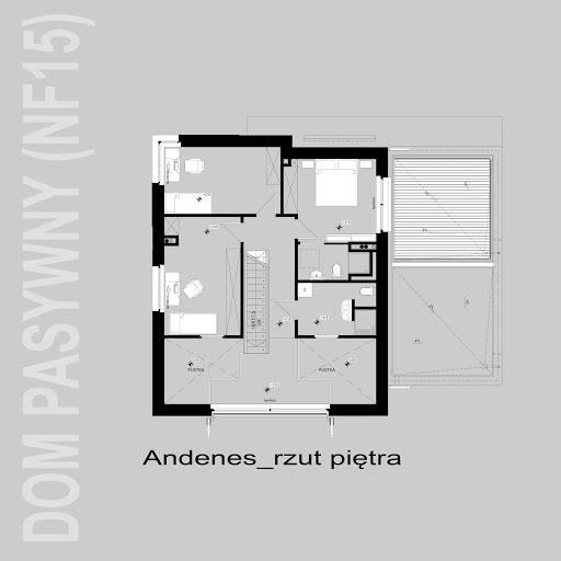 Andenes - Rzut piętra
