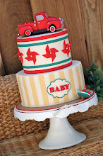 Photo: Vintage Toy Baby Shower by Royal Bakery (10/8/2012). View Cake Details Here: http://cakesdecor.com/cakes/31568