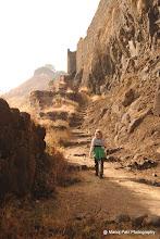 Photo: Sumi walking towards Suvela Machi Darvaja