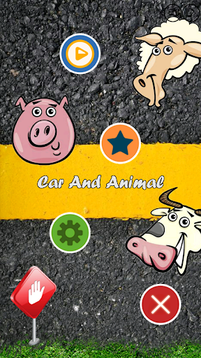 Car And Animal