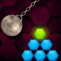 HEXASMASH • Wrecking Ball Physics Puzzle icon