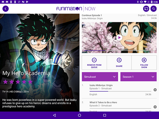 FunimationNow screenshot 11