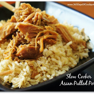 Recipe for Slow Cooker Asian Pulled Pork
