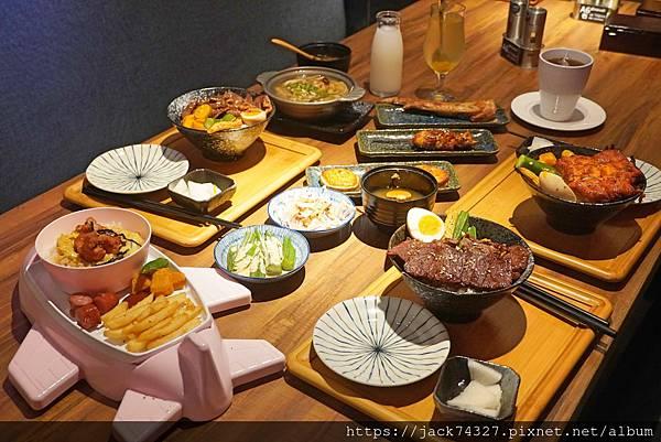 大河屋 燒肉丼 串燒 台中中友店
