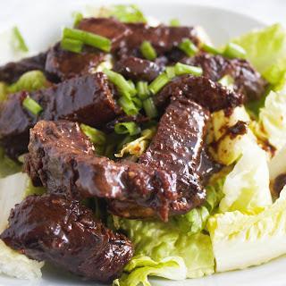 Asian-Marinated Flank Steak.