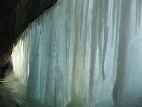 Photo: 10.W Grocie Komonieckiego z lodową firanką....