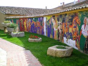 Photo: Etapa 14. Mural. Alberg En el Camino. Boadilla del Camino.