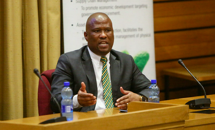 Finance MEC Oscar Mabuyane