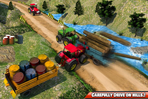 Drive Tractor Offroad Cargo- Farming Games for PC
