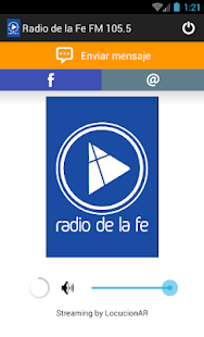 Radio de la Fe FM 105.5- screenshot thumbnail