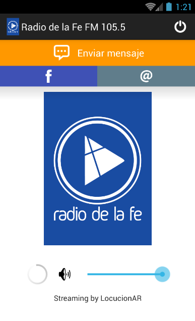 Radio de la Fe FM 105.5- screenshot