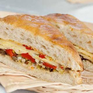 Meatless Muffuletta Sandwich